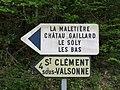 Saint-Clément-sur-Valsonne - Panneaux directionnels (avr 2018).jpg