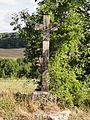 Saint-Gervais (95), hameau de Ducourt, calvaire sur la RD 135 au sud du hameau 2.JPG