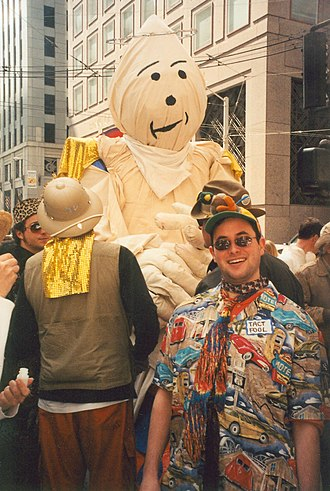 Saint Stupid's Day Parade - At the annual Saint Stupid's Day Parade on April 1, 2001