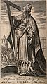 Saint Helen. Line engraving by P. Galle after M. de Vos. Wellcome V0032179.jpg
