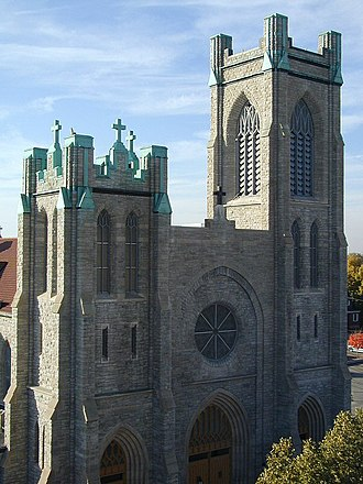 St. Mary Cathedral (Lansing, Michigan) - Image: Saint Mary Cathedral
