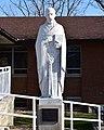 Saint Timothy Church (Columbus, Ohio) - exterior, St. Timothy statue.jpg