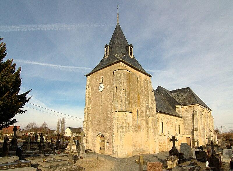 File:Sainte-Honorine-du-Fay église.jpg