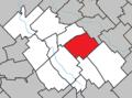 Sainte-Marguerite (Chaudière-Appalaches) Quebec location diagram.png