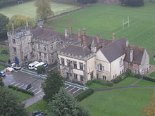 Salisbury Cathedral School, from Catherdal tower.jpg