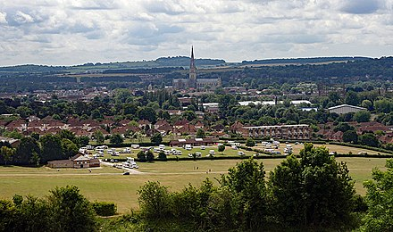 Salisbury viewed from Old Sarum Salisbury from old Sarum.jpg