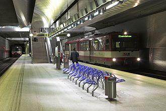 Salzburg S-Bahn - Image: Salzburg Lokalbahnhof