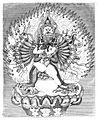 Sammlungen historischer Nachrichten über die mongolischen Völkerschaften - Yamantaka and his consort.jpg