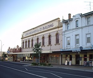 Temora, New South Wales - Image: Sampleofarchitecture Temora