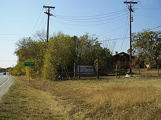 San Leanna, Texas - Entrance to San Leanna