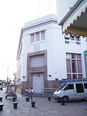 Bank of the Province of Buenos Aires - Image: San Nicolás y Pueyrredón, Pergamino
