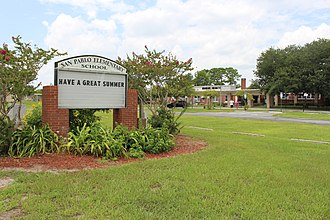 Jacksonville Beach, Florida - San Pablo Elementary School