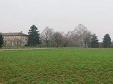Il luogo dove sorgeva la Villa di San Secondo e l'antica chiesa curata.