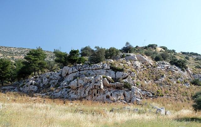 Il santuario di Afrodite