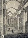 Sankta Catharina kyrkruin – P A Säve 1858.jpg