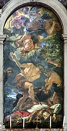 Santa Giustina (Padua) - Martyrdom of St. Gerard by Carlo Loth