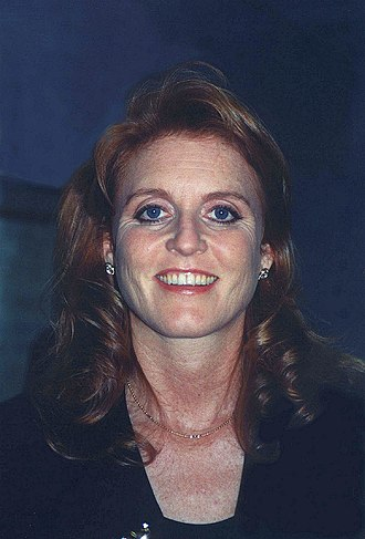 Sarah, Duchess of York - Sarah at a 1997 Weight Watchers event