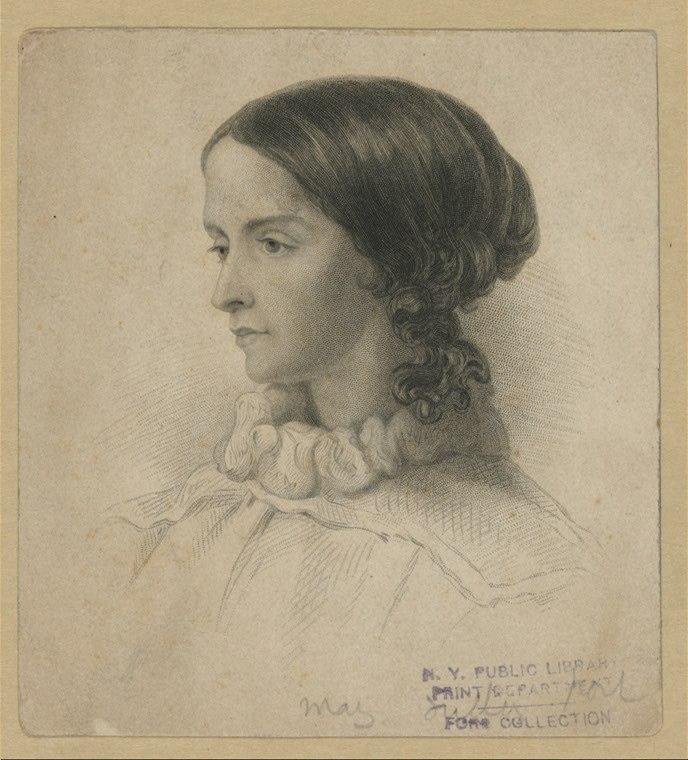 Sarah Margaret Fuller engraving