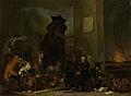 Satire op de berechting van Johan van Oldenbarnevelt Rijksmuseum SK-A-1588.jpeg
