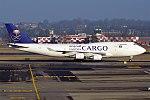 Saudia Cargo, TF-AMN, Boeing 747-4F6 BDSF (40138843671).jpg