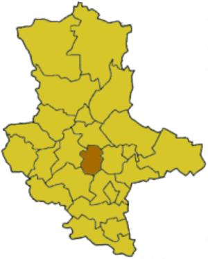 Bernburg (district) - Image: Saxony anhalt bbg