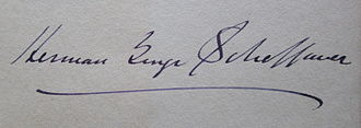 Herman George Scheffauer - Autograph from Berlin, May 1925