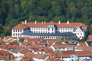 Adelaide of Saxe-Meiningen - Elisabethenburg Palace, the residence of the Dukes of Saxe-Meiningen