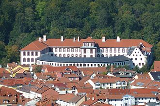 Saxe-Meiningen - Elisabethenburg Palace, Residence of the Duchy since 1682