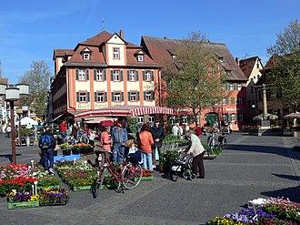 Schwabach - Market square