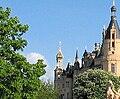 Schwerin Schloss Schlosskirche Turm 2006-05-07.jpg
