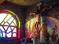 Sculpture of Crucified Christ - Inside Genocide Memorial Church - Karongi-Kibuye - Western Rwanda.jpg