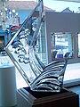 Scuplture en Cristal - Baccarat.JPG