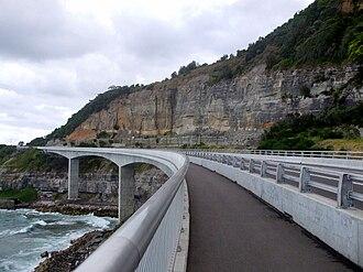 Sea Cliff Bridge - Image: Sea Cliff Bridge