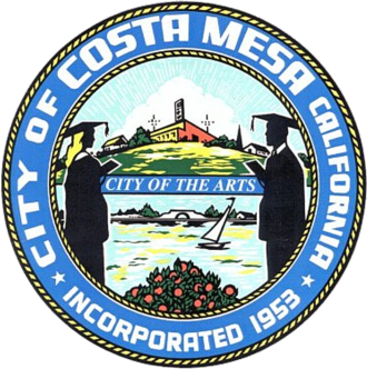 Costa Mesa, California - Image: Seal of Costa Mesa, California