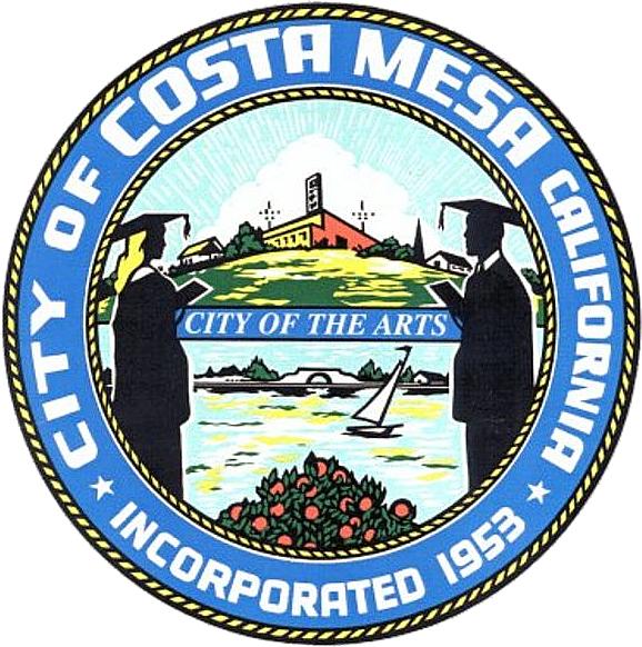 Official seal of Costa Mesa, California