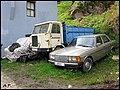 Seat 600, 1977 IPV, 1981 Mercedes-Benz W123 (4382649175).jpg