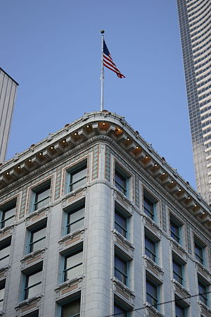 Arctic Building - Arctic Club Building Southwest Corner