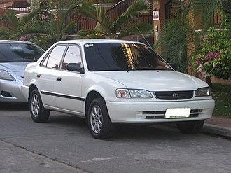 Toyota Corolla (E110) - 1998–2000 Corolla sedan (Asia)