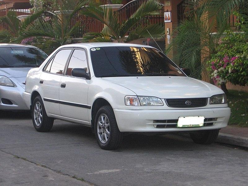 [Image: 800px-Second_Toyota_Corolla_XL.JPG]
