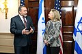 Secretary Clinton Meets With Israeli Deputy Prime Minister and Foreign Minister Liberman (6837171411).jpg