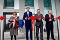 Secretary Kerry, Foreign Minister Abdyldaev Participate in Ribbon-Cutting Ceremony (22609637086).jpg