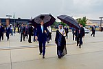 Secretary Kerry and Saudi Foreign Minister al-Jubeir Walk Across Tarmac as They Prepare to Greet King Salman at Andrews Air Force Base (20936508290).jpg