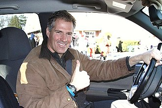 Scott Brown (politician) - Brown campaigning in his truck.