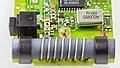 Sender for a motor driven gate - board - Ferrite rod antenna and 40.685 MHz crystal oscillator-9692.jpg