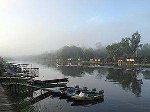 Papua (province) - Morning in Senggo Village, Mappi Regency, Papua, Indonesia.