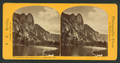 Sentinel Rock, height 3,042 feet, Yo Semite Valley, Cal, by Reilly, John James, 1839-1894.png