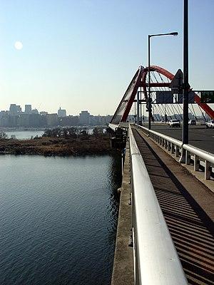 Bamseom - Image: Seogang Bridge Seoul