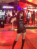 Serina Mochizuki in Metal Gear Rising of TGS 2012.jpg