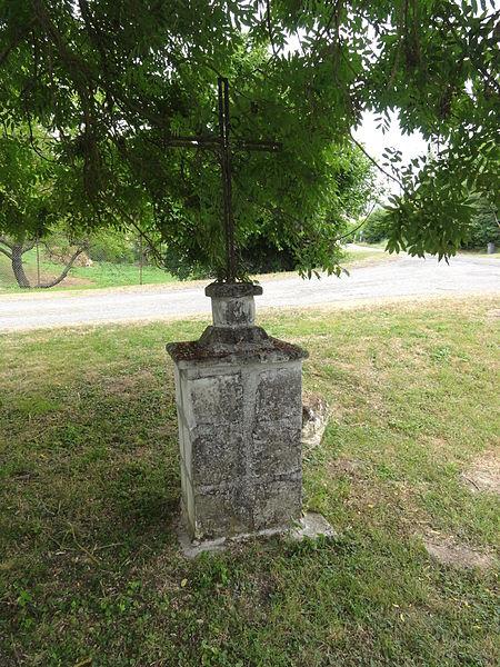 Sermoise (Aisne) croix de chemin (est)