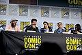 Seth Rogen, Dominic Cooper, Ruth Negga, Mark Harelik & Julie Ann Emery (48429389266).jpg